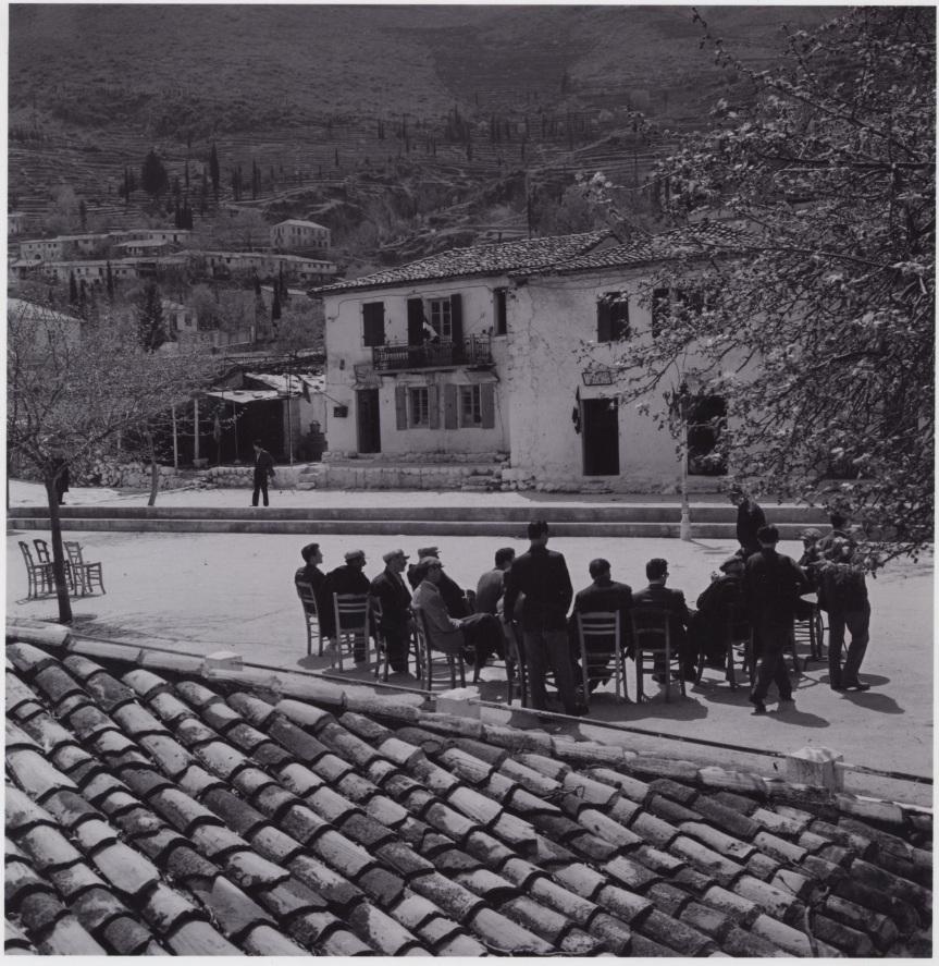Η Καρυά Λευκάδας τα τέλη της δεκαετίας του ΄50 μέσα από το φακό του Δημ.Χαρισιάδη