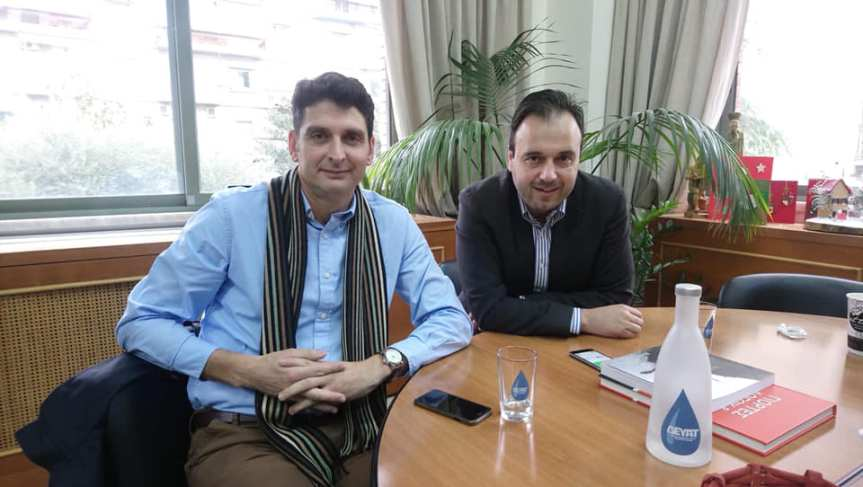 Σειρά επαφών εντός κι εκτός Λευκάδας είχε ο υποψήφιος Δήμαρχος Λευκάδας, κ. ΧαράλαμποςΚαλός