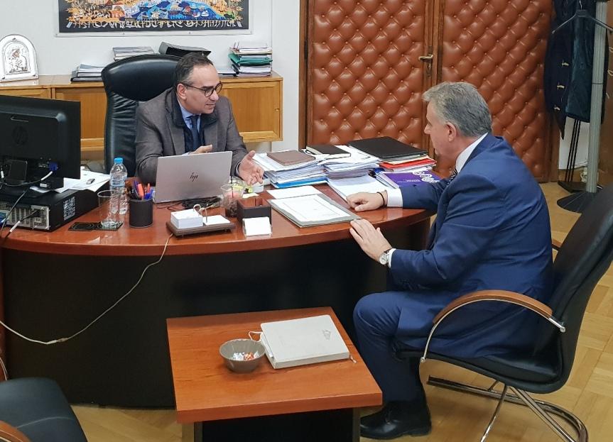 Συνάντηση είχε ο Βουλευτής Ν.Λευκάδας με τον Υφυπουργό Υγείας για τα προβλήματα  του ΝοσοκομείουΛευκάδας