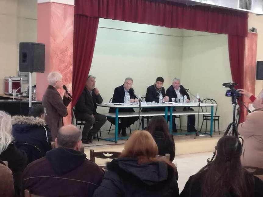 Συγκέντρωση- συζήτηση στη Καρυά για τα ανεπιτήρητα παραγωγικάζώα.
