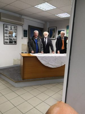 Ο Σύλλογος Καρσάνων Λευκάδος στην κοπή της πίτας της Ομοσπονδίας των Απανταχού Λευκαδίτικων Συλλόγων και του Συλλόγου Λευκαδίων Αττικής » Η Αγ.Μαύρα'
