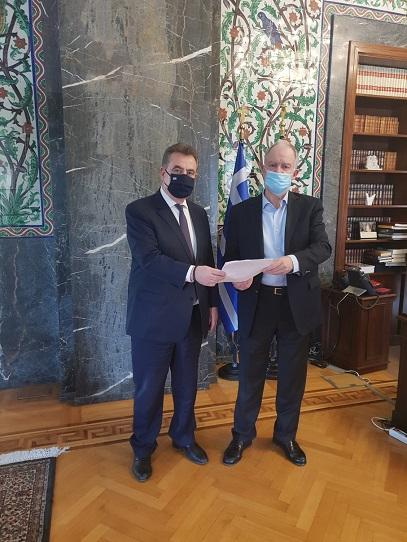 Δωρεά ύψους 5.000 ευρώ ενέκρινε ο Πρόεδρος της Βουλής των Ελλήνων κ. Κωνσταντίνος Τασούλας προς την Εταιρεία ΛευκαδικώνΜελετών