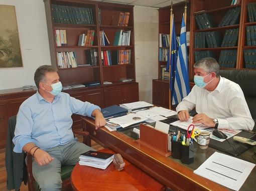 «Εξασφαλισμένα 850.000 ευρώ από το Υπουργείο Ανάπτυξης για τα έργα της Λαγκάδας και της αποκατάστασης ζημιών στη ΝότιοΛευκάδα»