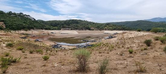 Τεχνικός σύμβουλος του ΥπΑΑΤ επιθεώρησε την λιμνοδεξαμενήΚαρυάς