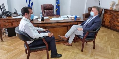 Θανάσης Καββαδάς:Συνάντηση με τη νέα ηγεσία του ΥπουργείουΥγείας